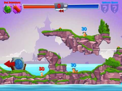 Worms 4 Out Now on iOS and Android!