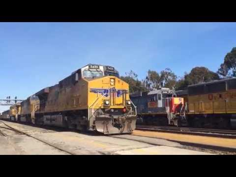Railfaning 9/19/16-9/22/16 with UP 1097, 2 Dirty Dirt Trains and MORE
