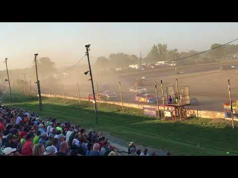 Oakshade Raceway Late Model Heat Races 7/13/2018