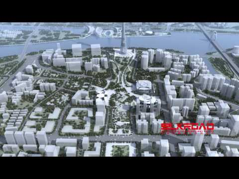 3d Animation for Guangzhou Museum Made by Silkroad