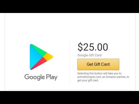 Method co google play card