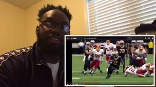 Alvin Kamara is the best NFL OFFENSIVE ROOKIE! [Highlight Reaction]