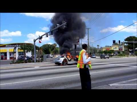 Pinellas Park Vehicle Fire