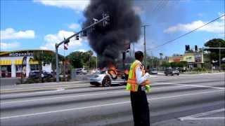 Pinellas Park Vehicle Fire