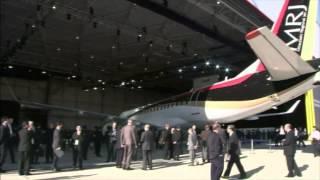 Présentation du MRJ, premier avion civil depuis 50 ans