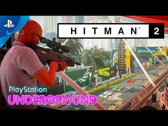 Hitman 2 Gameplay Challenge | PlayStation Underground