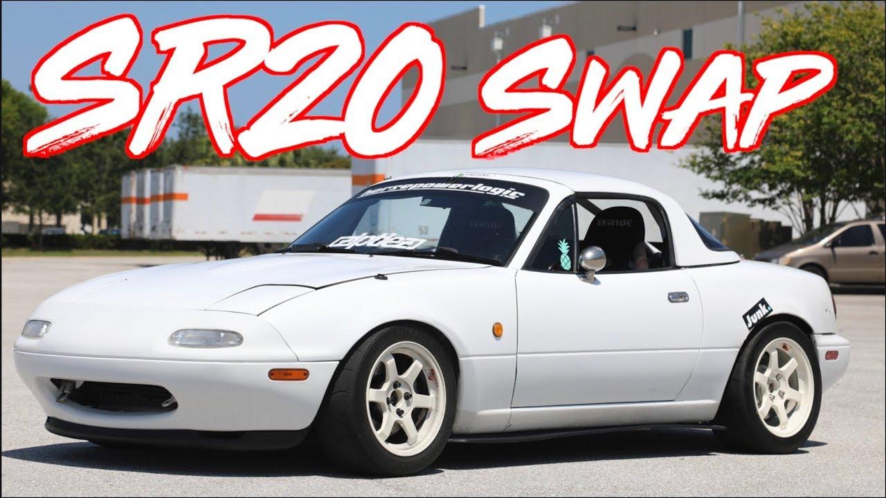 ROWDY SR20 Swap RHD Miata on BOOST! -