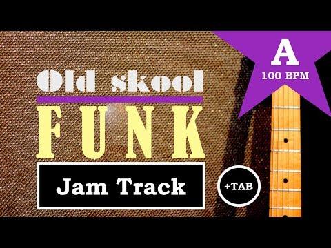 old skool funk // guitar backing jam track (a)
