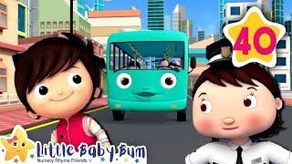 Wheels On The Bus  | Little Baby Bum | Baby Songs & Nursery Rhymes | Learning Songs For Babies