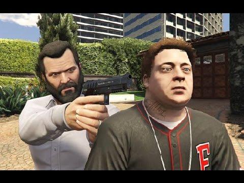 GTA V Michael kills Jimmy