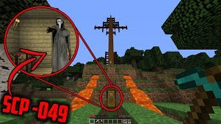 We finally FOUND SCP-049 HIDING in this Secret Minecraft Base.... (Minecraft SCP Hunting)