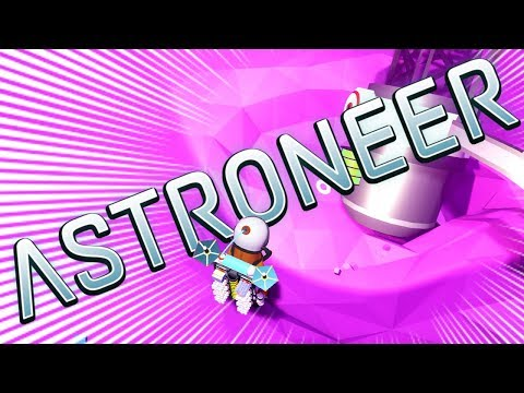 ASTRONAUT DISCOVERS GIANT SOLAR PANEL THAT WORKS! - Astroneer Single Player 2018