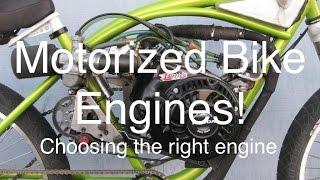 Motorized  Bikes Engine Breakdown