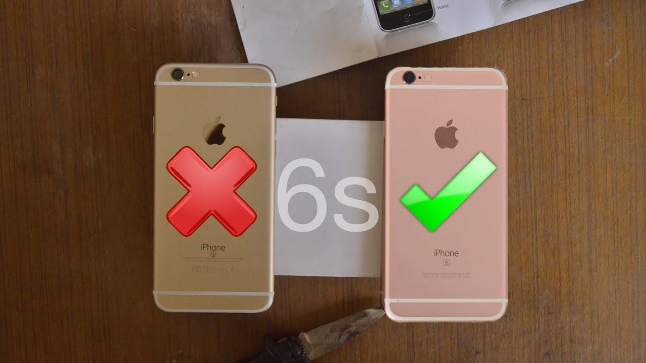 Iphone 6s Clone Vs Original