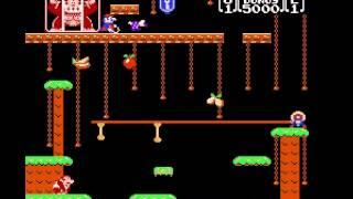 Donkey Kong Jr. - Donkey Kong Jr. (FDS / Famicom Disk System) - User video