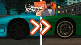 кАК ЗАМЕНИТЬ КОЛЕСА В GTA:SA  3D MAX
