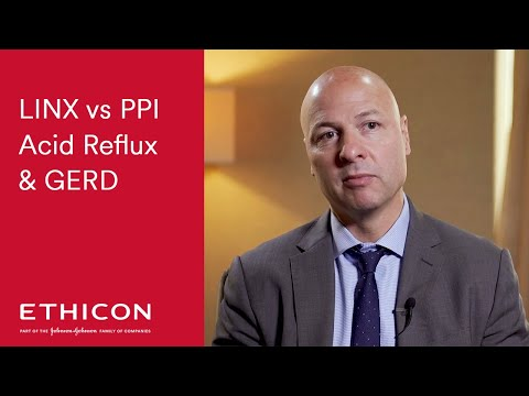 LINX Vs PPI For Long Term Acid Reflux And GERD Relief | ETHICON