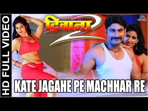 Kate Jagahe Pe Machhar Re Full Bhojpuri Video Song | Deewana 2 | Poonam Dubey & S.P. Kharel