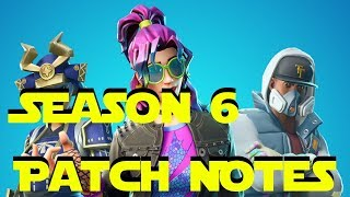 Fortnite Season 6 Patch Notes | Audio and Room Sound Update 6.00 | German