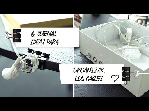 6 buenas ideas para organizar y ocultar cables | Ideas Westwing