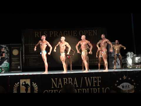 1st Group Compulsory - NABBA Classic Bodybuilding Open - RLS Prague Open 2019