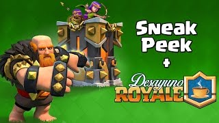 ???MINI SNEAK PEEK DE CLASH OF CLANS!!! Relacion de Supercell con YouTubers | #DesayunoRoyale