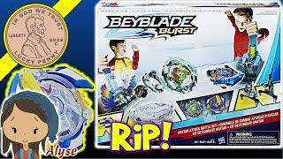 Daddy & Daughter Battle With The Beyblade Burst Avatar Attack Battle Set