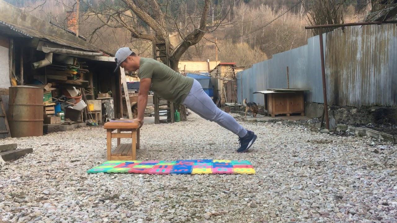 Home chest workout / Tập ngực tại nhà hiệu quả  / Kompletný domáci tréning hrudníka s vlastnou váhou