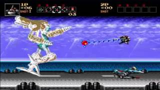 Contra Hard Corps - All Bosses