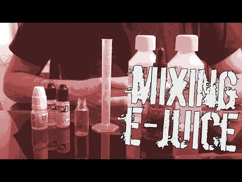 E-Juice Mixing & Sharing Recipes