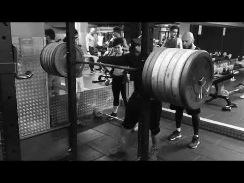Daniel Stisen Squat Workout 2018