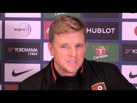 Chelsea 2-1 Bournemouth - Eddie Howe Post Match Press Conference - Carabao Cup Quarter-Final