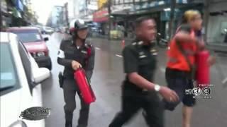 เรื่องเล่าเช้านี้ ไฟไหม้สายไฟฟ้า ระทึกกลางตลาดเทศบาลราชบุรี