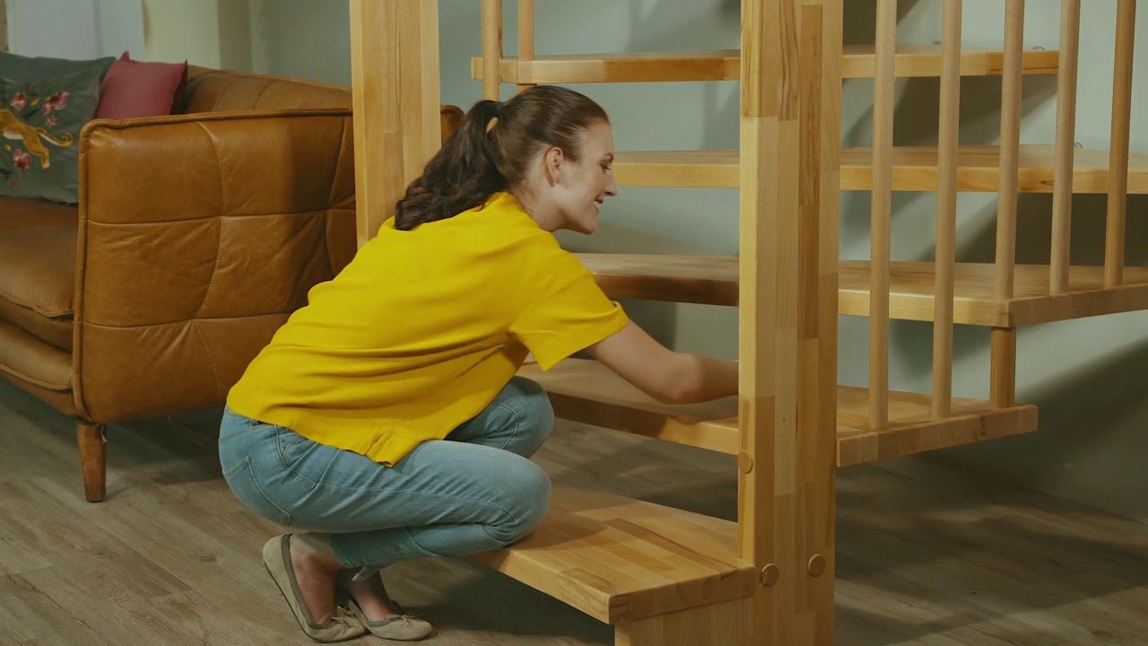 comment nettoyer un escalier en bois perfect comment nettoyer du bois peint with comment. Black Bedroom Furniture Sets. Home Design Ideas