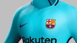 Check out the features of barcelona away jersey, coming soon to worldsoccershop.com shop gear: http://www.worldsoccershop.com/shop/shop-by/shop...