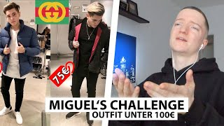 Justin reagiert auf Miguel's Hypebeast Outfit unter 100€ | Reaktion