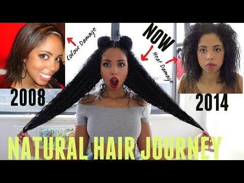 Natural Hair Journey With Video Footage and Pictures | Racquel Stewart