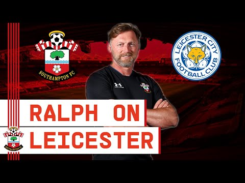 PRESS CONFERENCE: Hasenhüttl previews Leicester City