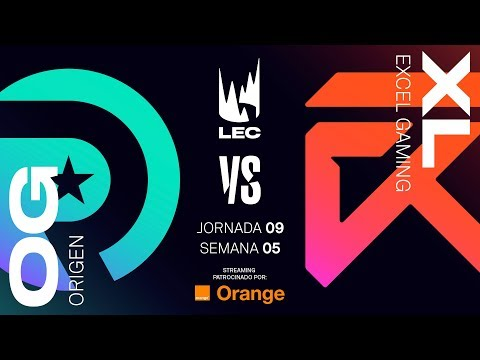 ORIGEN VS EXCEL | LEC | Spring Split [2019] League of Legends thumbnail