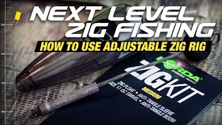 Adjustable Zigs - How to set up the Korda Zig Rig Kit | Carp Fishing