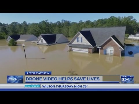 Drone helps make rescue in Hope Mills