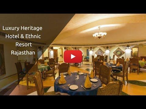 Luxury Heritage Hotel & Ethnic Resort Rajasthan - ChokhiDhani Jaipur