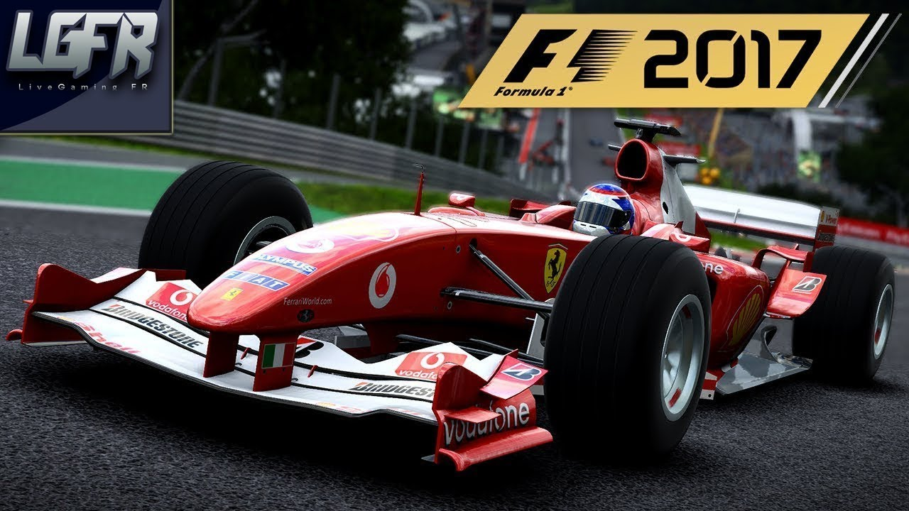 F1 2017 Ferrari F2004 Spa Francorchamps Ps4 Fr Youtube