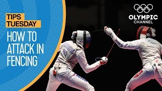 How to Perform a Compound Attack in Fencing | Olympians' Tips