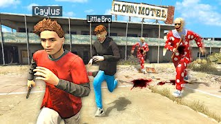 We Went To The CLOWN MOTEL In GTA 5 RP (Bad Idea)