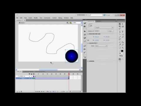 flash tutorial for beginners how to make a motion guide for an rh youtube com Adobe Flash CS5 Tutorial Adobe Flash CS5 Cover