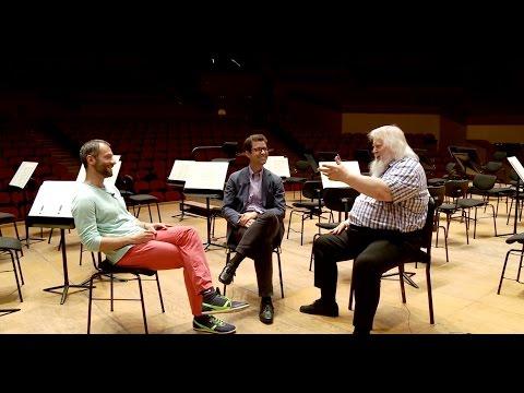 Andrés Lacasa conversa con Leif Segerstam y Dima Slobodeniouk