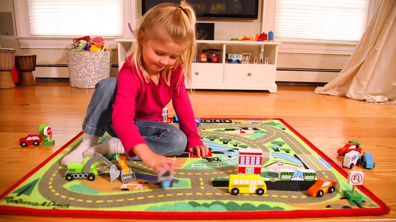 tapis de jeu voiture jouet enfant melissa et doug lapouleapois fr
