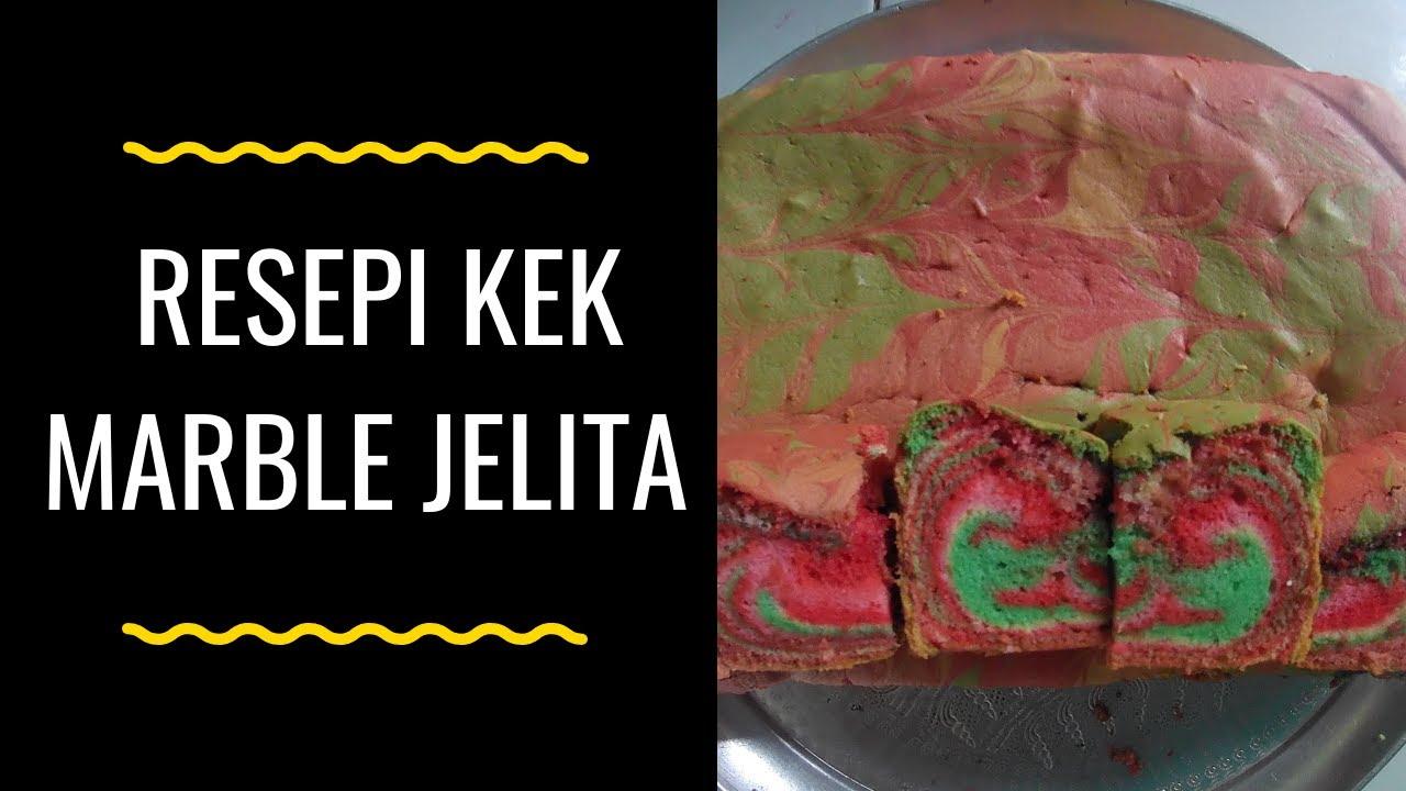 Resepi Kek Marble Jelita