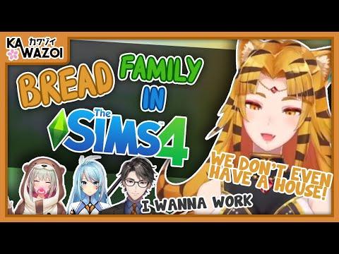 The Origin of Bread Family 【Nijisanji ID】【English Sub】